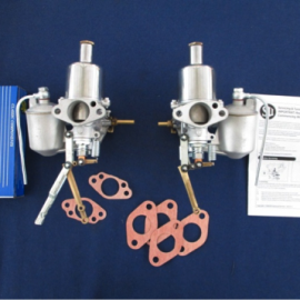 Pair of reconditioned carburettors