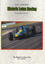 Historic Lotus Club Magazine no. 41