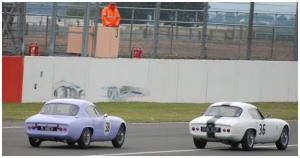 Other club members took part in the racing