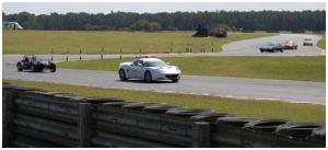 Snetterton Circuit to ourselves, a few members having fun on the track