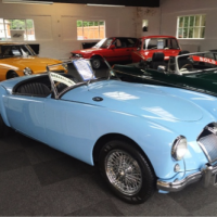 MG MGA Series 1 - Iris blue